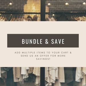 Bundle & Save - Buy More, Pay Less